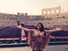Prossima tappa: Il debutto all' @arenaverona come Abigaille in #Nabucco il 29 agosto 2015! #inarena