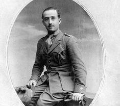 Francisco Franco como comandante de infantería en 1923
