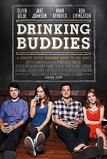 Here's the official movie poster of Drinking Buddies, the upcoming romantic comedy drama movie starring Anna Kendrick, Olivia Wilde, Jake Johnson, and Ron Livingston: Hd Movies, Movies To Watch, Movies Online, Movies And Tv Shows, Movie Tv, Movies 2014, Netflix Movies, Funny Movies, Real Movies