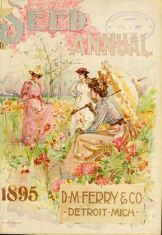 D.M.Ferry & Co. Seed annual, 1895