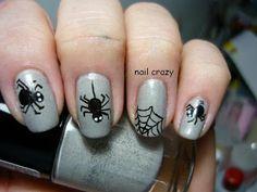 Nail crazy: Halloween Nail Art Challenge - Spider