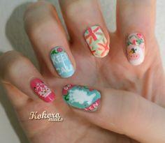 kokoro nails: QUEEN'S DIAMOND JUBILEE NAIL ART : a nail art blog by a nail polish obsessive
