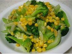 Ensalada de brocoli con apio