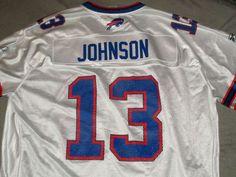 Buffalo Bills Steve Johnson Reebok NFL Equipment football jersey 2XL XXL #13…