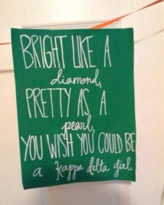Kappa Delta canvas by SimplyFabs on Etsy
