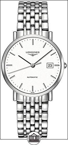 LONGINES RELOJ DE HOMBRE AUTOMÁTICO CORREA Y CAJA DE ACERO L48104126 ✿ Relojes para hombre - (Lujo) ✿