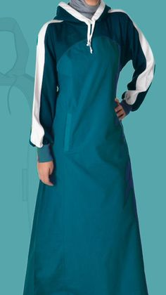 inspiration to upcycle a hoodie into a tunic - islamic design house