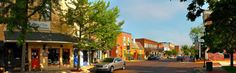 Zionsville, Indiana - many quaint shops and good restaurants
