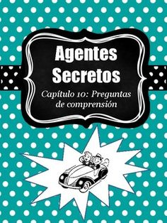 This document includes 10 comprehension questions regarding Chapter 10 of Agentes secretos y el mural de Picasso.The questions are asked in Spanish.Answer key is included. Be sure to check out my other resources and games for Agentes Secretos below!Chapter 5 Review Game: https://www.teacherspayteachers.com/Product/Agentes-Secretos-Ch-5-Review-Game-Grudgeball-2979073Chapter 6 Review…