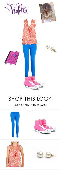 """violetta"" by violettafan13 ❤ liked on Polyvore featuring J Brand, Converse, Eyeshadow, women's clothing, women, female, woman, misses and juniors"