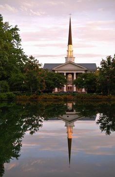 What a sight! Furman University in Greenville, SC // yeahTHATgreenville