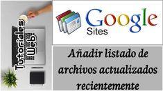 Wix 2017 - Añadir y gestionar videos (español) Google Sites, Wix Web, Editor, Videos, Youtube, Blog, Google Plus, Twitter, News