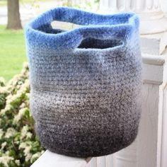 So cute! Felting makes this a stronger bag.