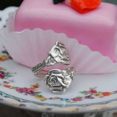 Whole Soul Jewelry - Silver Spoon Jewelry - Rose Spoon Ring, $32.00 (http://www.wholesouljewelry.com/silver-spoon-jewelry-rose-spoon-ring/)