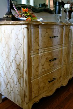 From White to Quatrefoil - Refresh Restyle