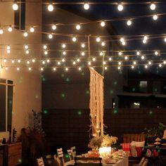 Solar Powered Bulbs Led String Lights for Outdoor Lighting Courtyard Street Garden Led Fairy Lights Christmas Garland Best Outdoor Lighting, Outdoor Fairy Lights, Led Fairy Lights, Backyard Lighting, Twinkle Lights, Hanging Lights, Lighting Ideas, Backyard String Lights, Solar Led String Lights