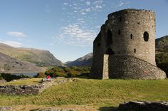 Dolbadarn Castle is a fortification built by the Welsh prince Llywelyn the Great during the early 13th century, at the base of the Llanberis Pass, in North Wales. The castle was important both militarily and as a symbol of Llywelyn's power and authority. Image Credit : Stuart Herbert