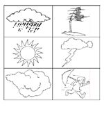Free Weather Theme activities including printables, book suggestions, and lesson plans for pre-K   Repinned by Speech Language Literacy Lab