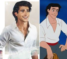 Jirka Väätäinen, a Finnish artist and designer in Melbourne did a series of real-life Disney prince illustrations to answer your question ifyou've ever wondered what they might have looked like in real life.