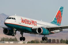 america west airlines | File:America West Airlines Airbus A319 KvW.jpg - Wikipedia, the free ...