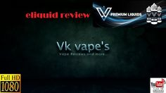 VnV e-liquids reviewed by Vk vape's (Greek-Ελληνικά)