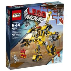 LEGO Movie 70814 Emmet's Construct-o-Mech Building Set(Discontinued by manufacturer) *** Details can be found by clicking on the image. (This is an affiliate link and I receive a commission for the sales) #BuildingToys