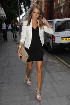 Millie mackintosh - beautiful hair colour | chanel style with fur ...