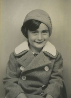 Anne Frank Oh my gosh! She's adorable! Brave and amazing little girl!