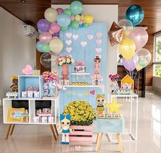 Credito: @tribodossonhos #Festainfantil #FestaLOLSurprise #LOLSurprise #LOL #Surprise #FestaMenina Baby Shower Deco, Baby Shower Balloons, Shower Party, Surprise Party Decorations, Birthday Decorations, Party Themes, 10th Birthday Parties, Third Birthday, Festa Baby Alive