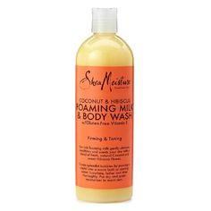 SheaMoisture Coconut and Hibiscus Foaming Milk and Body Wash, 16 Ounce >>> Learn more by visiting the image link.