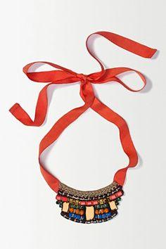 Nocturne Gemstone Blaze Necklace | Anthropologie ♥ by miekinvorm.nl
