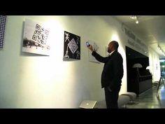 an exhibition of QR design was held in Paris