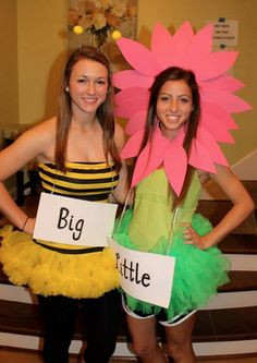 big/little cute!