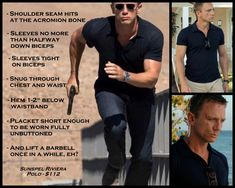 The perfect polo fit, courtesy of Bond, James Bond - Imgur