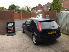 2007 Ford Fiesta in this afternoon for 18% Carbon tints to the rear.