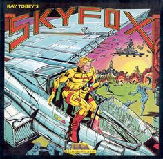 Skyfox Commodore 64 Front Cover