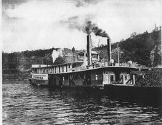 steamboat images | left close up of a steamboat owned by william whigham right steamboat ...