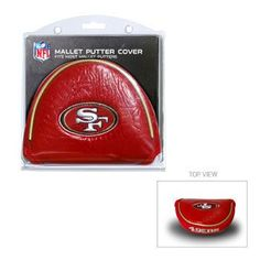 Team Golf NFL Mallet Putter Headcover - San Francisco 49ers