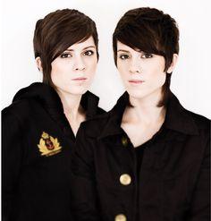 beautiful lesbian artist twins! tegan & Sara