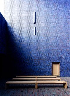 Meditation Chapel in Blue III