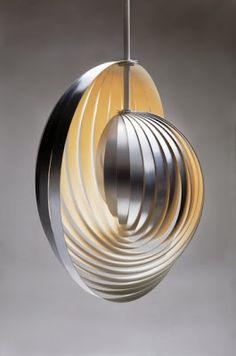 silver pendant lamp