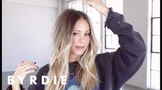Celebrity Hairstylist Laura Polko Re-Creates Her Signature Messy Bend | Byrdie - YouTube