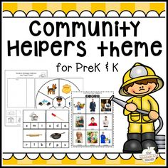 Best 25 Community helpers crafts