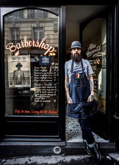 THE ORIGINALS SERIES. Meet true original Fatih, from Paris based barbershop Alex Haircuts. We find out how he puts his unique stamp on the Parisian barber scene. Read more on the blog
