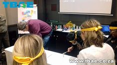 Kimberly Clark Minute To Win It team building Cape Town...