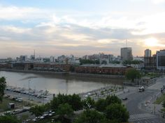 Sunset in Puerto Madero, Ba.As.