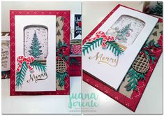 Jar of Love, Jar of Cheer, Christmas Pines | Juan Ambida Independent Stampin' Up!® Demonstrator Australia: Crazy Crafters…