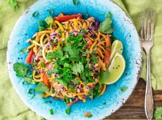Raw, Plant-based, gluten-free, easy to make with butternut squash noodles packed full of nutrition. Butternut Squash Benefits, Butternut Squash Noodle, Squash Noodles, Vegan Main Dishes, Raw Desserts, Eating Raw, Raw Vegan, Raw Food Recipes, Stuffed Peppers