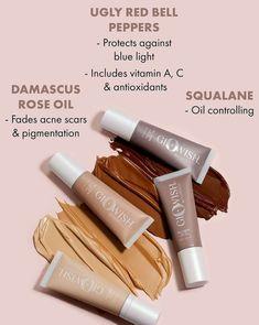 Huda Beauty, Beauty Skin, Huda Kattan, Beauty Youtubers, Makeup News, Rose Oil, Acne Scars, Skin Makeup, Skin Care