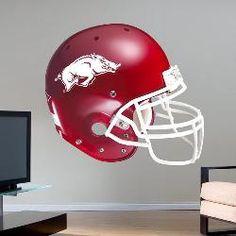 Fathead Arkansas Razorback Helmet Wall Graphic